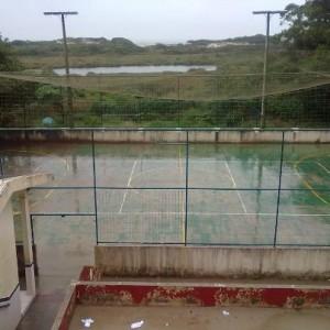 Quadra da Escola Escola Básica Municipal Maria Tomazia Coelho