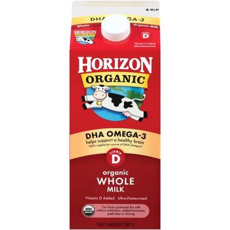 leite organico com dha horizon
