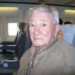 Vô Neno - Angelo Crevin - no avião indo para o meu casamento