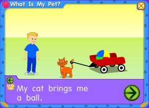 Arthur com o gato Max da tia