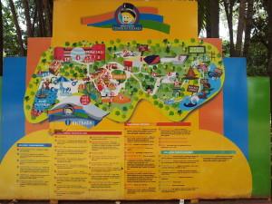 Mapa do Parque - Clique para Ampliar