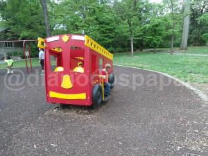 Piedmont Park - Playground com piso emborrachado