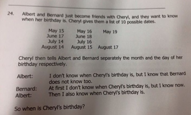 singapore math problem bernard